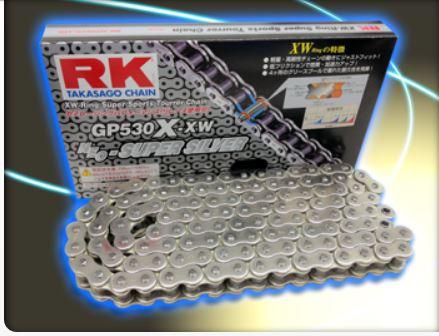 RKチェ-ン GP530X-XW-110 シルバー 530-110