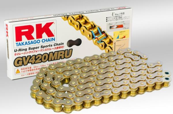 RKチェ-ン 注目ブランド GV420MRU-120 ブランド品 420-120 ゴールド