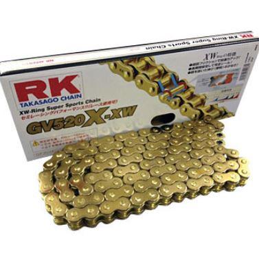 RKチェ-ン アイテム勢ぞろい GV520X-XW 110L 現金特価 ゴールド 520-110