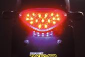 武川/TAKEGAWA LEDテールランプKIT(クリア) W400/W650/W800