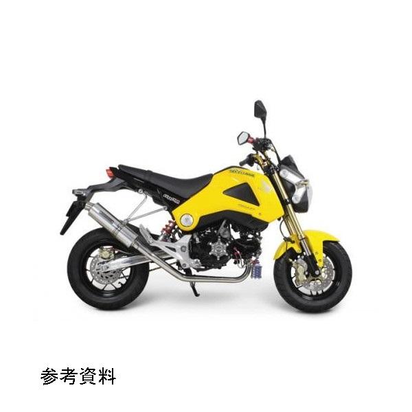 武川 ボンバーマフラー政府認証 GROM(JC61-1000001-)