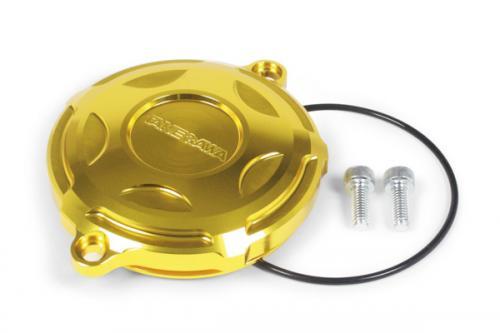 武川 シリンダーヘッドL.サイドカバー GROM MSX125 ゴールド