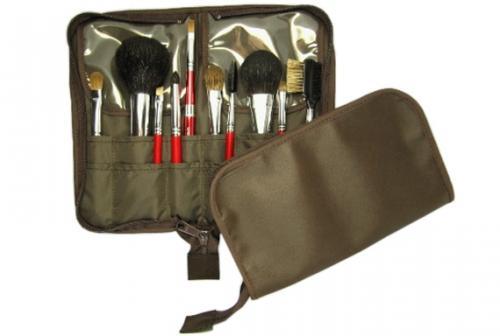 Portable Makeup Bag (medium) Kumano Makeup Brush Original Makeup Pouch  Kumano Brush Brushes Storage Case Makeup Brush Makeup Brush Case