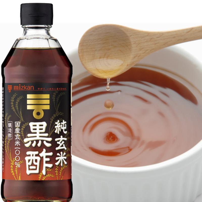 ミツカン 純玄米 超安い 卓越 黒酢 12本 6本×2箱 500ml