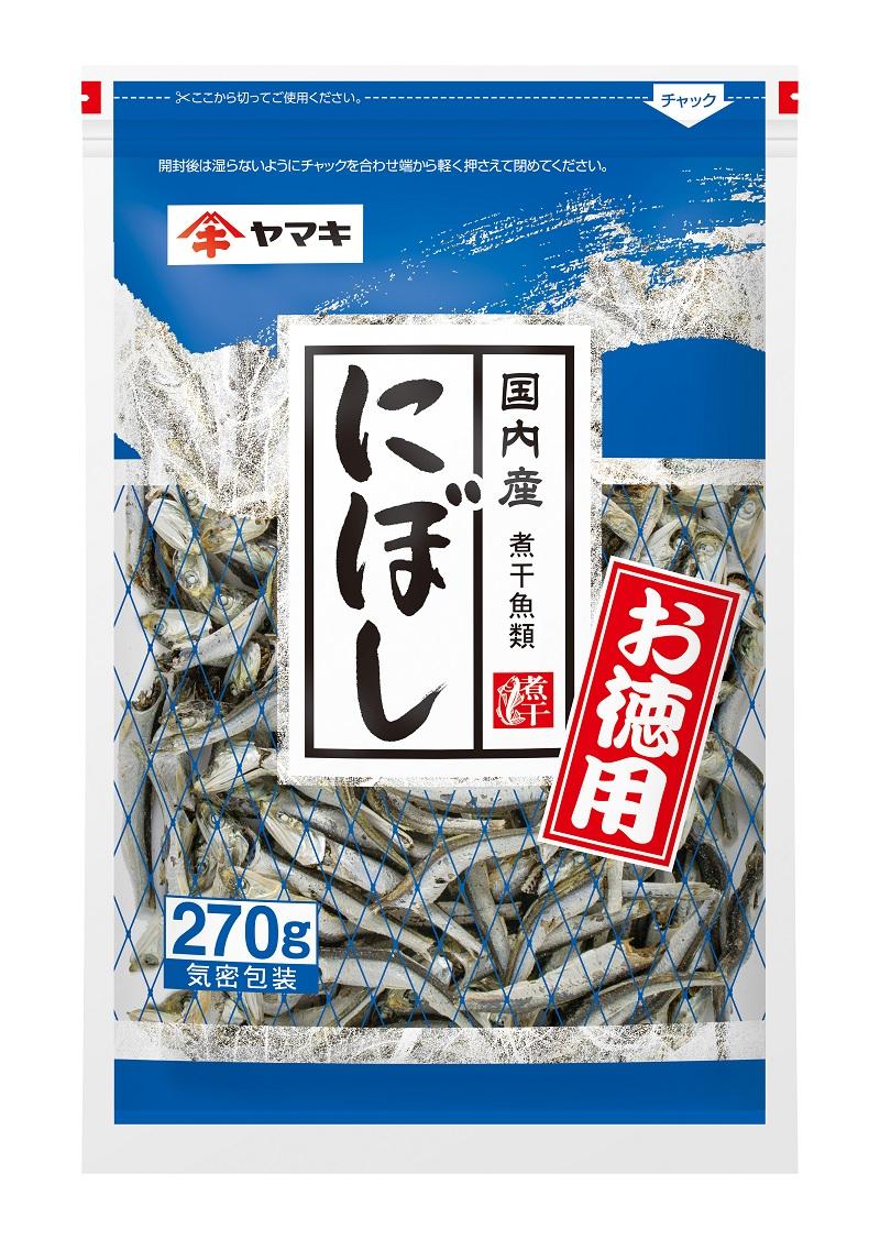 ヤマキ お徳用 新作製品、世界最高品質人気! 煮干 定番 270g×30袋 15袋×2箱