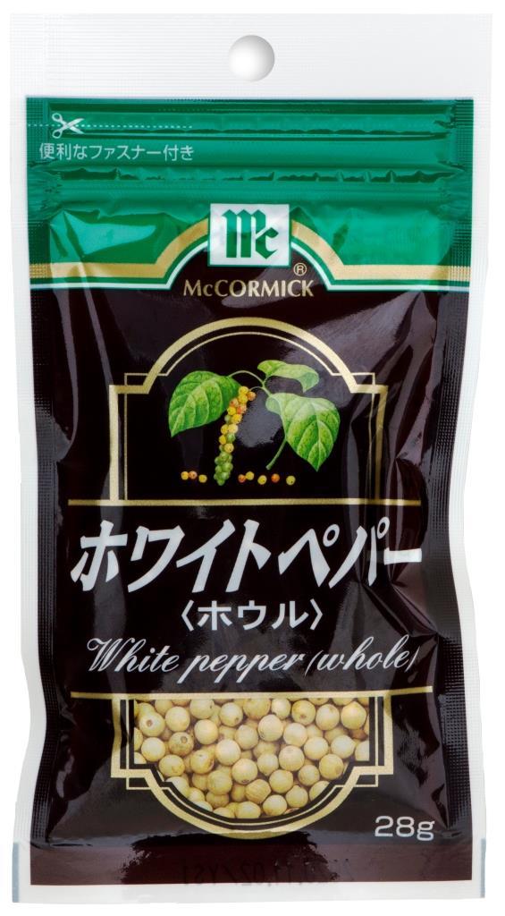 ユウキ 調味料 素材 エスニック 販売 YOUKI 10%OFF 倉 ホワイトペッパー 60個 MC ホール 28g ZTHS