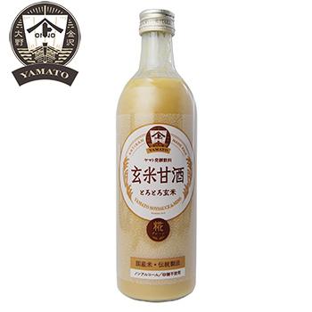 ヤマト醤油味噌 好評受付中 ランキングTOP10 玄米甘酒 490ml×24個 ZHT