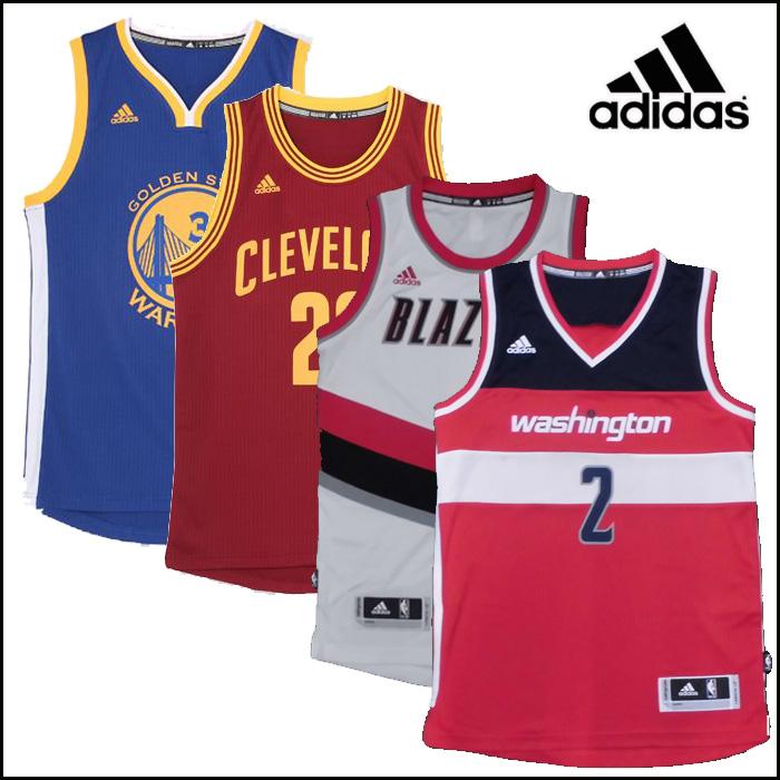adidas/アディダス バスケットボール トップス [fn944 NBA_スウィングマン_ジャージ_SWINGMAN] レプリカユニフォーム_カリー_リラード_ジョン・ウォール/【ネコポス不可能】