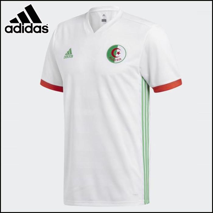 adidas/アディダス サッカー トップス [dsi37 アルジェリア代表_ホーム_レプリカユニフォーム] レプリカ_メンズ_半袖/2018SS 【ネコポス対応】