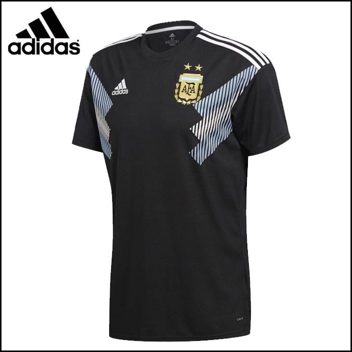 adidas/アディダス サッカー レプリカ [dtq83 アルゼンチン代表_アウェイ_レプリカユニフォーム] レプリカ_応援_半袖ユニフォーム/2018SS 【ネコポス対応】