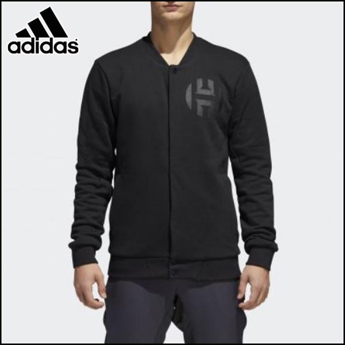 adidas/アディダス バスケットボール トップス [due81 HARDEN_VSTY_JKT] ジェームズ・ハーデン・スウェットジャケット_スナップボタン__James・Harden/2018SS 【ネコポス不可能】