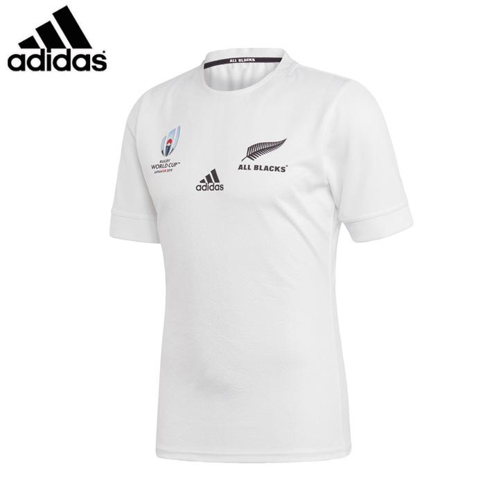 adidas/アディダス ラグビー レプリカユニフォーム [fxk17-dy3783 オールブラックスRWC2ndジャージ] レプリカシャツ_オールブラックス 【ネコポス対応】