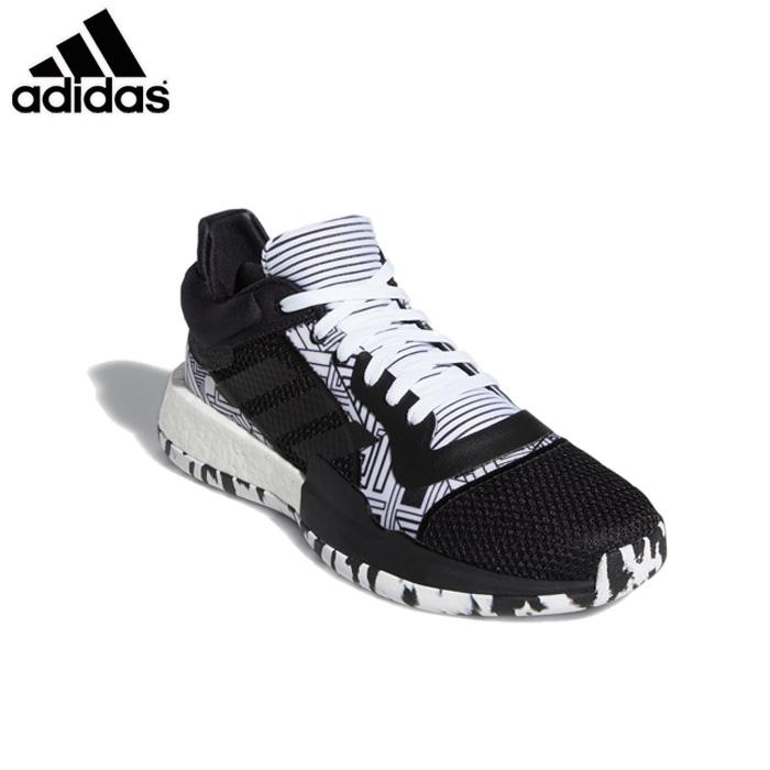 adidas/アディダス バスケットボール バスケットシューズ [f97281 MarqueeBoostLow_マーキーブーストロー ] バッシュ_レギュラーフィット 【ネコポス不可】
