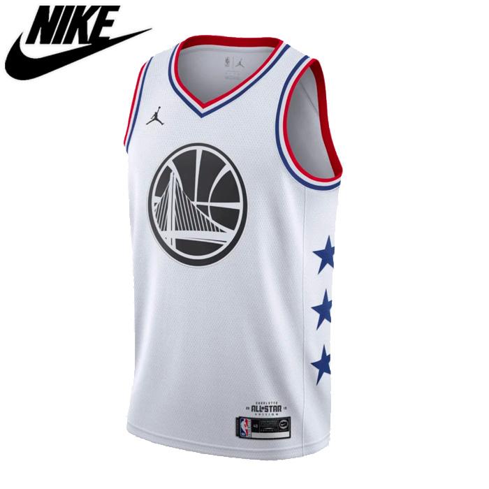 NIKE/ナイキ バスケットボール レプリカユニフォーム [aq7297-101 ASW_SWGMN_ジャージ_WHT] NBAオールスター2019_スウィングマンジャージ_Golden_State・Warriors_Stephen・Curry_#30/2019SS 【ネコポス不可】