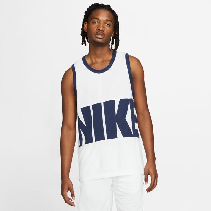 【タンクトップ】 NIKE/ナイキ バスケットボール トップス [da1042-100 DRIーFITスターティング5タンクトップジャージ] タンクトップ_ノースリーブ 【ネコポス対応】