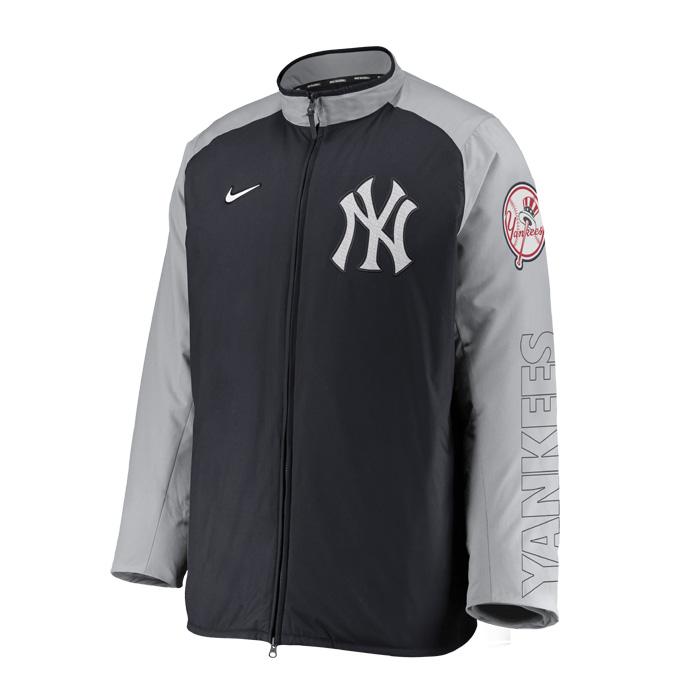 ニューヨークヤンキース ジャケット 通販 気質アップ 激安 NIKE ナイキ 野球 nkau-193n-nk-n1a Men'sNikeAuthenticCollectionBaseballDugoutJacket NEWYORKYANKEES_ニューヨークヤンキース_MLB_メジャーリーグ_ジャケット_アウター ネコポス不可 トップス