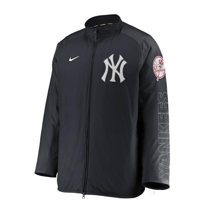 ニューヨークヤンキース 毎日がバーゲンセール ジャケット NIKE ナイキ 野球 在庫一掃売り切りセール ネコポス不可 トップス Men'sNikeAuthenticCollectionBaseballDugoutJacket NEWYORKYANKEES_ニューヨークヤンキース_MLB_メジャーリーグ_ジャケット_アウター nkau-910z-nk-n1a