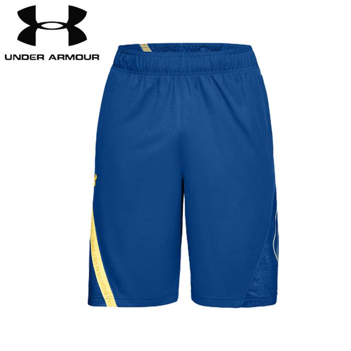 under_armour/アンダーアーマー バスケットボール パンツ [1317398-400 Curry_11インチショーツ] バスパン_ハーフパンツ_練習着_ステフィン・カリー/2018FW 【ネコポス対応】