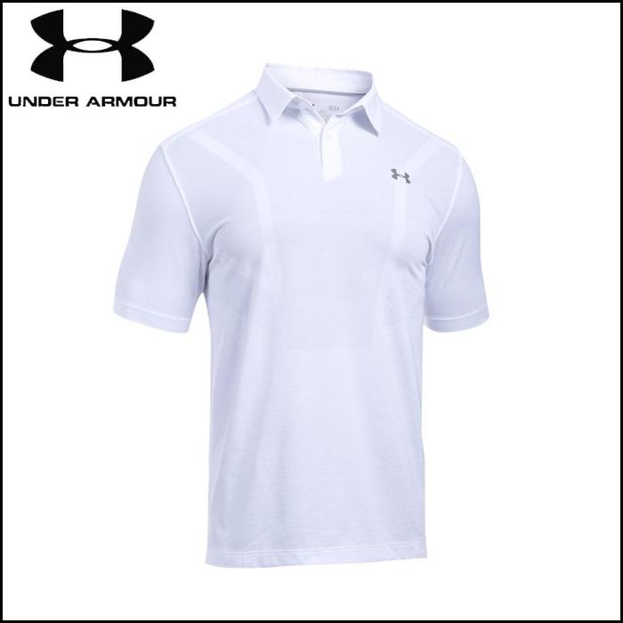 under_armour/アンダーアーマー ゴルフ トップス [1290152-100 UA_Threadborne_Polo_スレッドボーンポロ] ポロシャツ_ビジネス_クールビズ 【ネコポス対応】