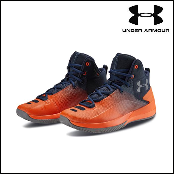 under_armour/アンダーアーマー バスケットボール バスケットシューズ [3000087-401 UA_Rocket_3_ロケット3] バッシュ_MIDカット/2018SS 【ネコポス不可能】