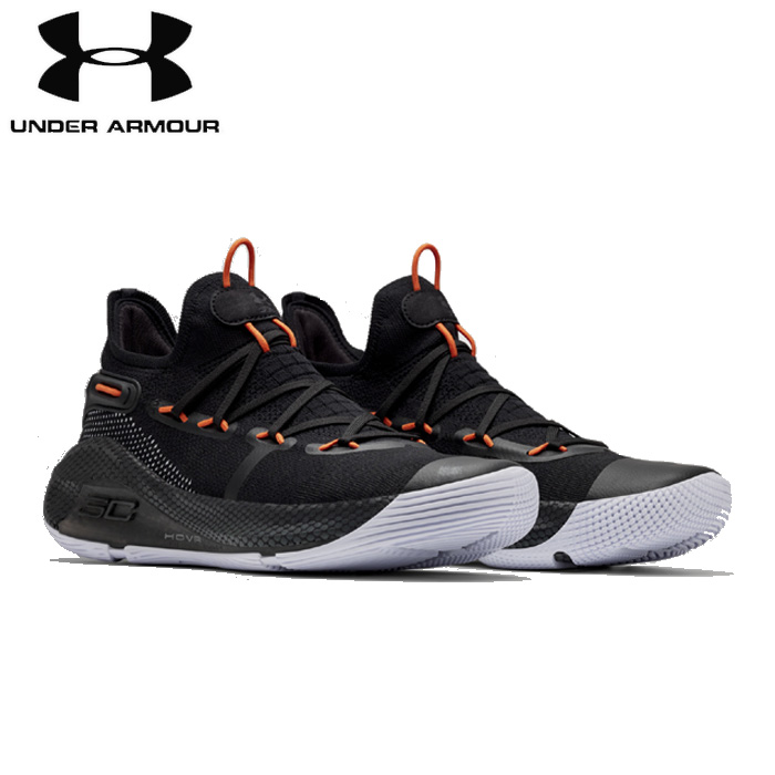 under_armour/アンダーアーマー バスケットボール バスケットシューズ [3020612-003 UA_Curry_6_カリー6] Working_On_Excellence_バッシュ_curry_GSW/2019SS 【ネコポス不可】