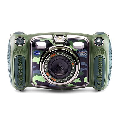 VTech Kidizoom DUO Camera カモフラージュOnline Exclusive 80-170860 Camouflage【送料無料】 MicroSD対応 子供用トイカメラ キッズ用デジタルカメラ【平行輸入品】※配送先、沖縄・九州・北海道・離島のご注文はお受けできません