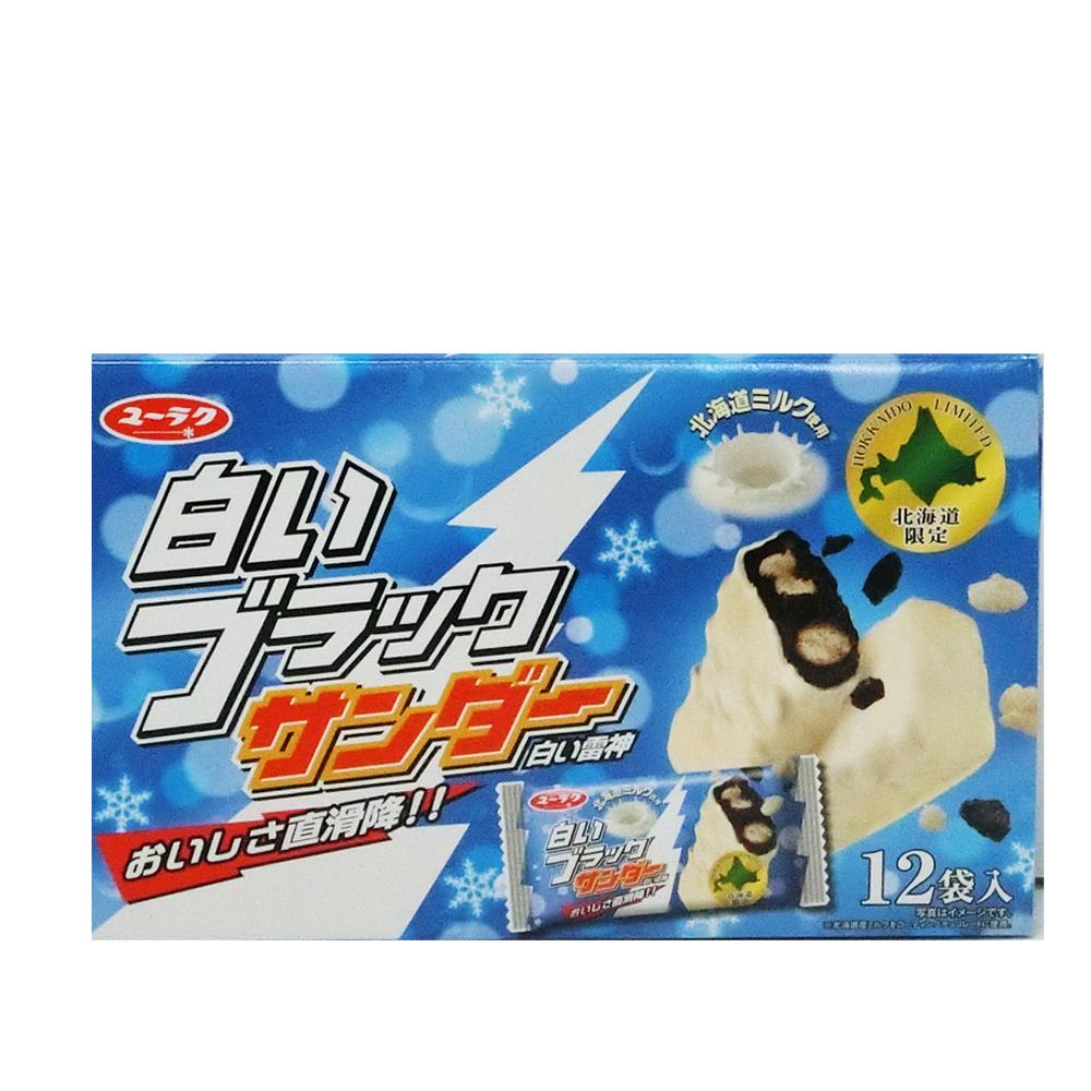白いブラックサンダー 1箱 12袋入り/チョコレート菓子/有楽製菓