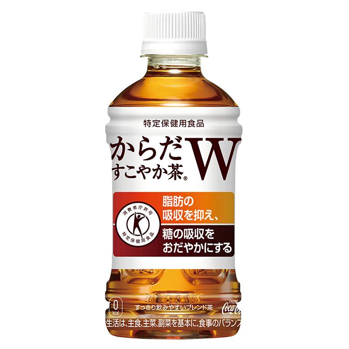 【送料無料】からだすこやか茶W350mlPET×72本■コカ・コーラ社製品以外の商品と一緒に注文できません