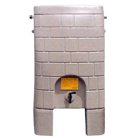 【送料無料!】タキロン 雨音くん 架台付き 150リットル雨水貯留タンクを使って雨水の有効活用をしよう!