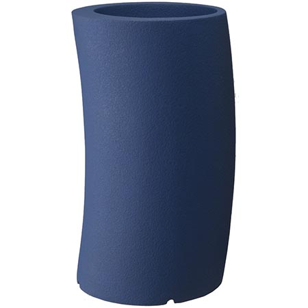 【送料無料!】大和プラスチック カーブ 33H型 ダークブルー見る角度で表情を変える、遊び心のあるプランター
