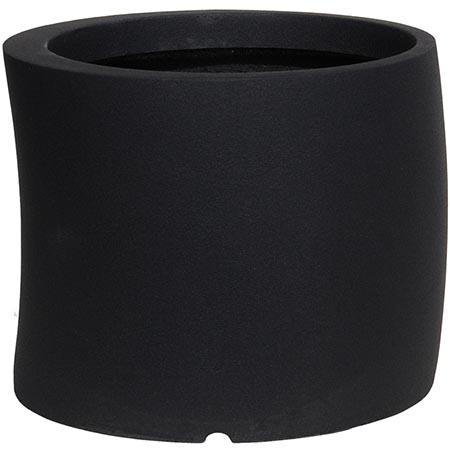 【送料無料!】大和プラスチック カーブ 50型 ブラック見る角度で表情を変える、遊び心のあるプランター