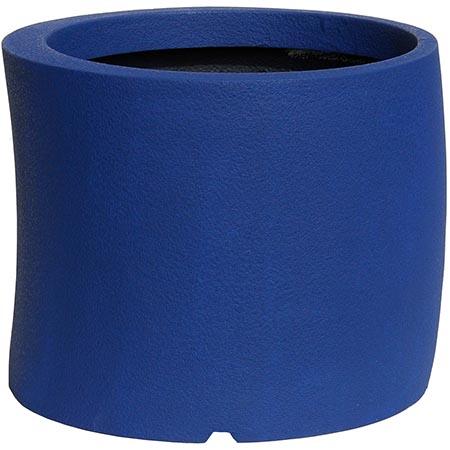 【送料無料!】大和プラスチック カーブ 50型 ダークブルー見る角度で表情を変える、遊び心のあるプランター