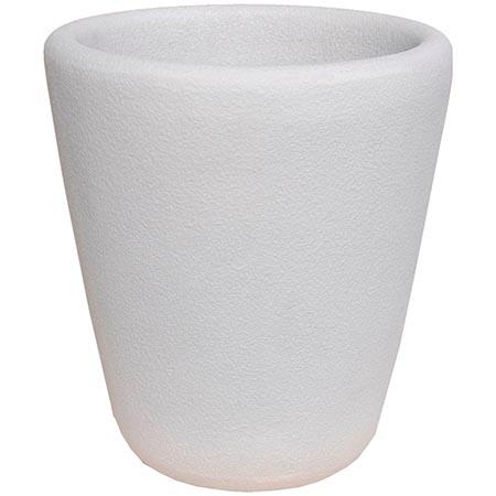 【送料無料!】大和プラスチック ランプ 45H型 ホワイト柔らかい印象のデザインプランター