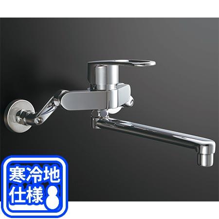 【送料無料!】LIXIL(INAX) シングルレバー混合水栓(回せるもん)寒冷地 RSF-862YZキッチン用水栓