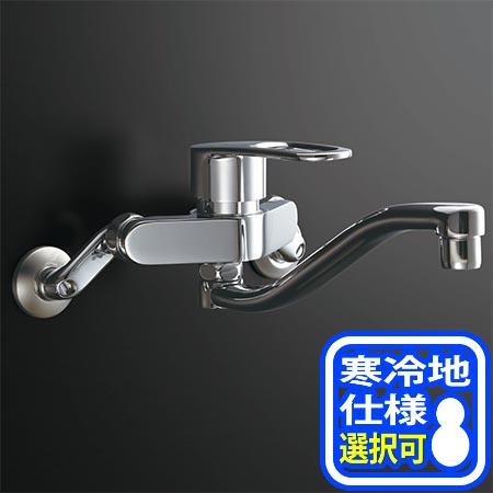 【送料無料!】LIXIL(INAX) シングルレバー混合水栓 ※寒冷地仕様選択可 RSF-863Y(N) キッチン用水栓