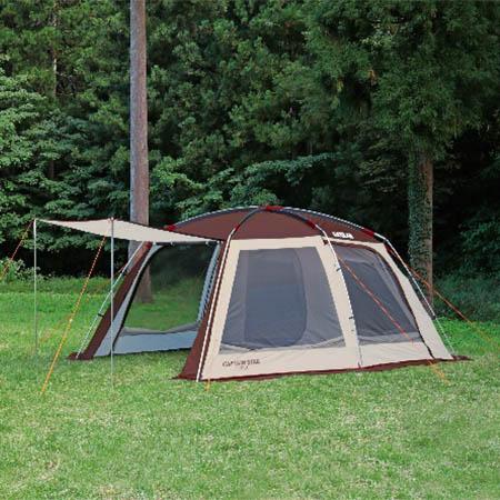 【送料無料!】 エクスギア スクリーンツールームドームテント UA-0021ワンルームの大型スクリーンハウスとしても!