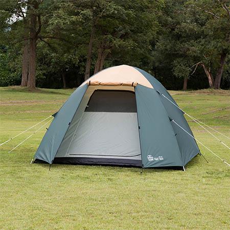 【送料無料!】BUNDOK ドーム型テント5 UV BDK-76キャンプ、アウトドアライフに欠かせないドームテント