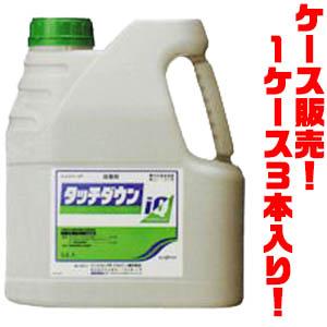 【送料無料!】シンジェンタジャパン 除草剤 タッチダウンIQ 5L ×3入り一年生雑草から多年生雑草まで枯らすことができます