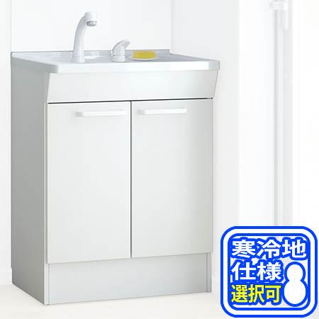 【送料無料!】TOTO KE 600 洗面化粧台下台 ※寒冷地仕様選択可 LDCG060BAGE(N/S)1Aエコシングル水栓。すべり台ボウル
