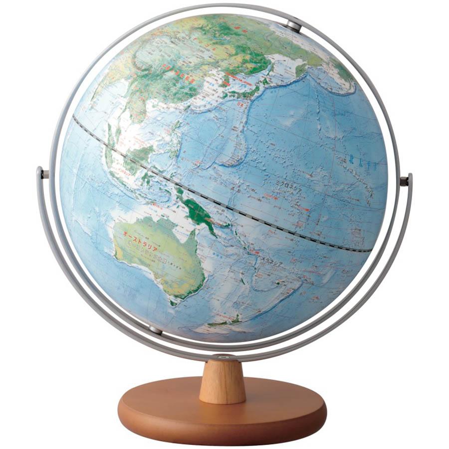 【文具館】レイメイ藤井 地球儀 地球地図プロジェクト 30cm OYV260インテリアとしても最適