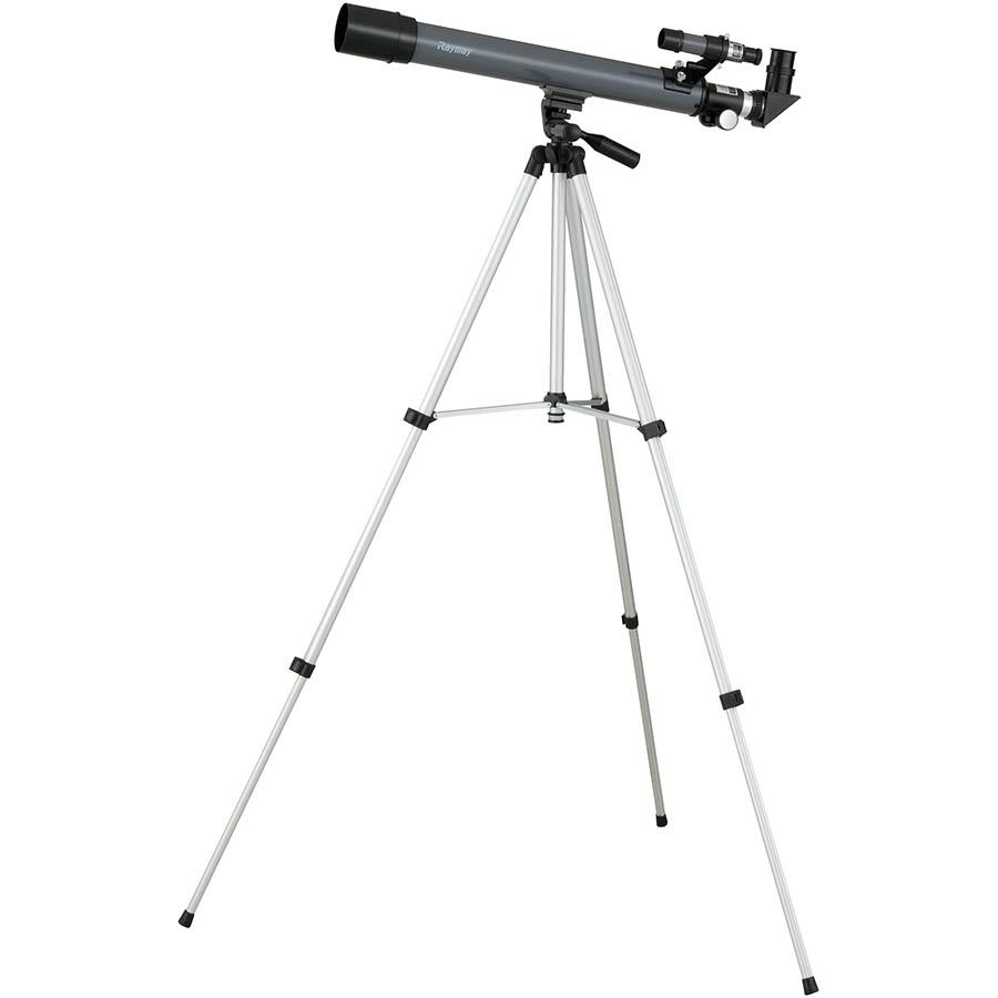 【文具館】レイメイ藤井 天体望遠鏡(屈折式・経緯台) 600mm/50mm RXA104レイメイの天体望遠鏡は初めての方にも優しい!
