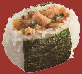 【冷凍食品 よりどり10品以上で】味の素 おにぎり丸 ねぎ味噌チキン80g自然解凍でおいしい!