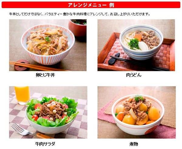 【冷凍食品 よりどり10品以上で】トロナジャパン すき家牛丼の具135g電子レンジで簡単調理!