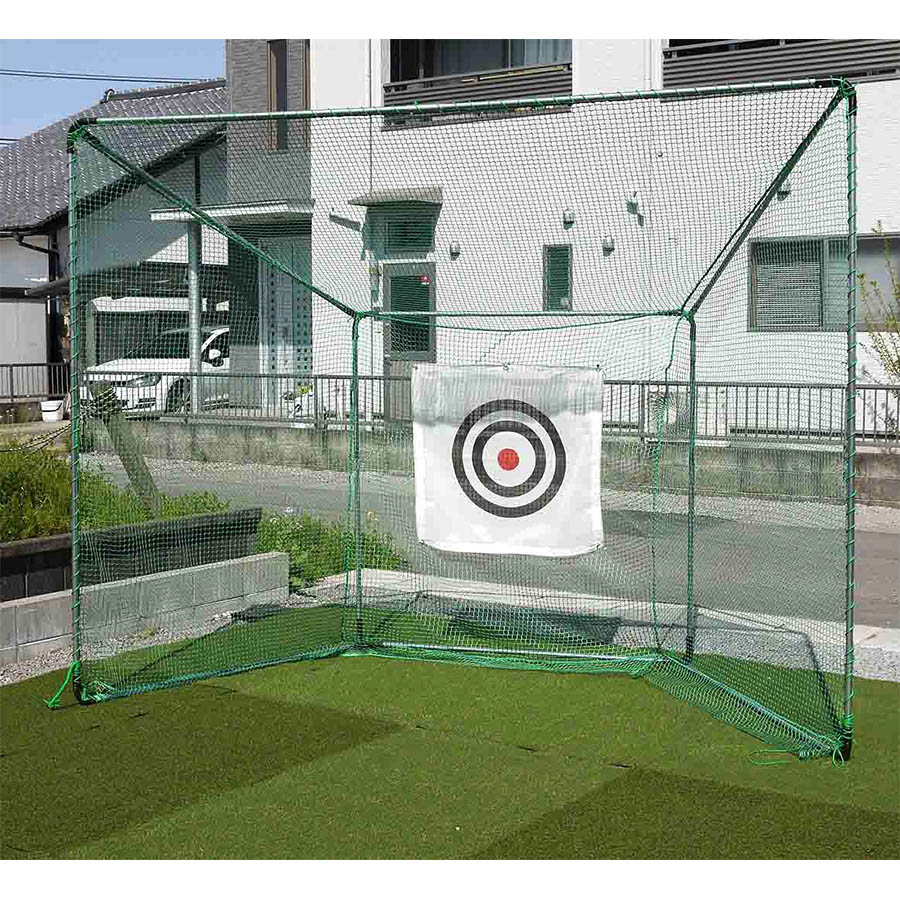 【送料無料!】 ゴルフネット 据置式GT GT-200ゴルフネットの基本形。スタンダードモデル。
