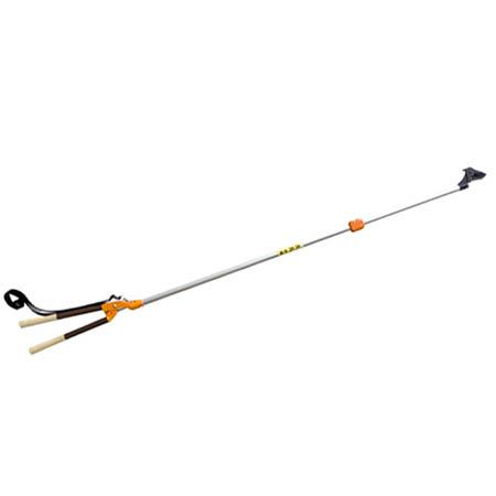 【送料無料!】ニシガキ 太丸伸縮 N-160長~く伸びる伸縮式の太枝切鋏です。