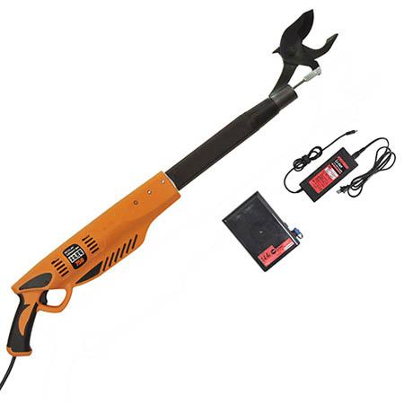 【送料無料!】ニシガキ 太丸充電 750 N-910レバーを引くだけで太枝を1秒で切断します。