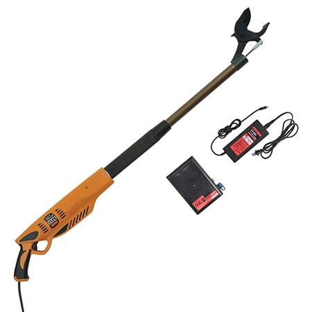 【送料無料!】ニシガキ 太丸充電 1000 N-911レバーを引くだけで太枝を1秒で切断します。