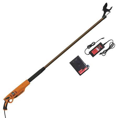 【送料無料!】ニシガキ 太丸充電 1500 N-912レバーを引くだけで太枝を1秒で切断します。