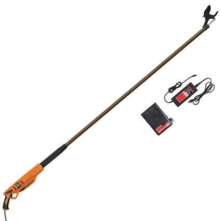 【送料無料!】ニシガキ 太丸充電 2000 N-913レバーを引くだけで太枝を1秒で切断します。