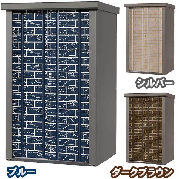 【送料無料!】タカヤマ 物置 シルク ブロック柄 幅950mm TJS-0915HB